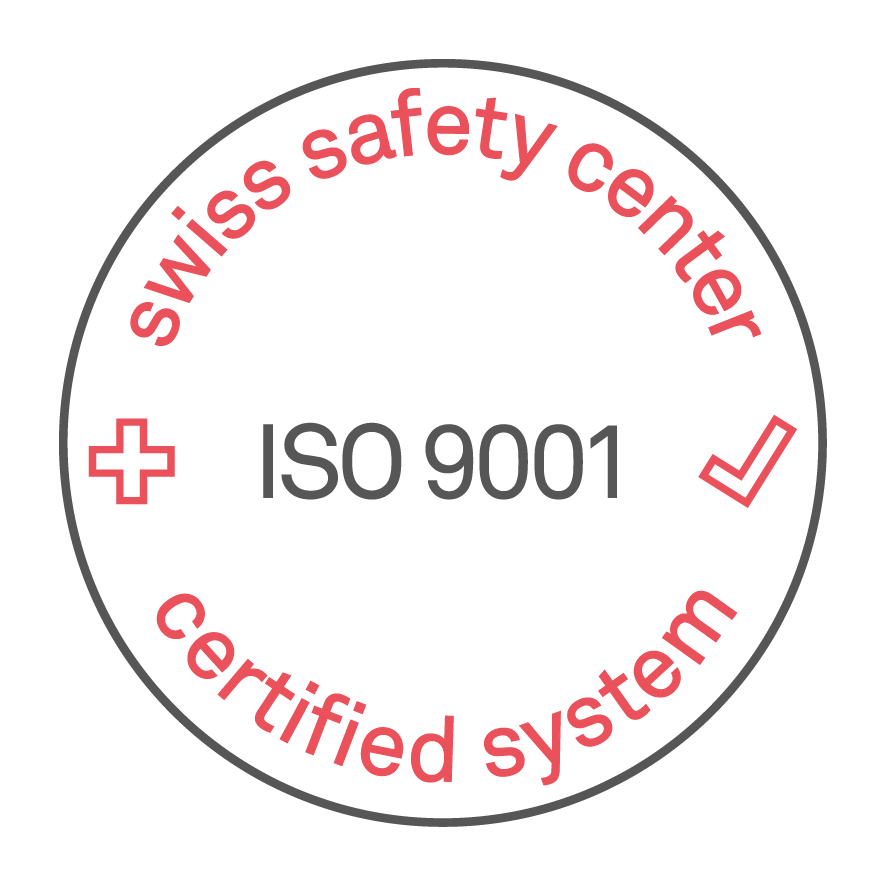 Swiss Safety Center ISO 9001